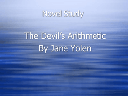Devil`s Arithmetic PPT