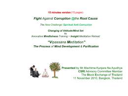 15 minutes version Fighting Corruption @the Root Cause through