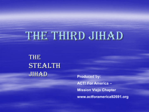The Third Jihad - Act! for America 92691