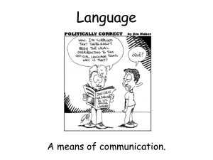 Language - AP Psychology Community