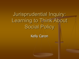Jurisprudential Inquiry