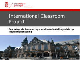 International Classroom Project