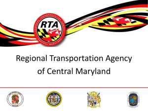 Central Maryland Regional Transit Facility
