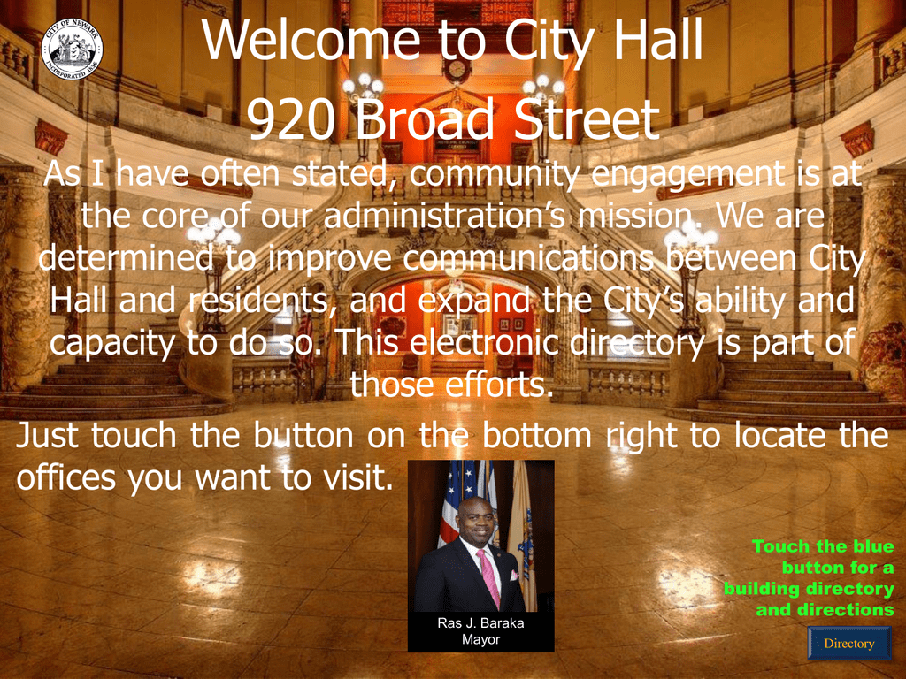 Hours 830am to 430pm city of newark new jersey aiddatafo Image collections