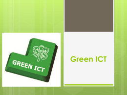 Green ICT tips