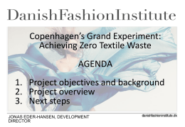 Works to promote Danish fashion internationally