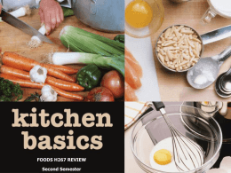 kitchen basics powerpoint