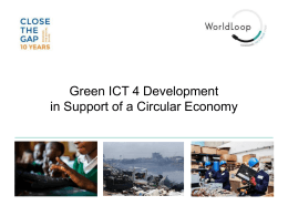 100 certificate can recycle 2 tons of e-waste