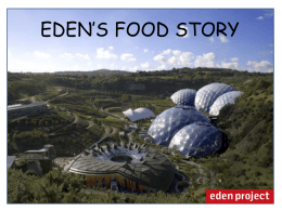 Food Sustainability at Eden (WI)