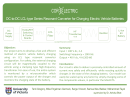DC-DC LCL-type Resonant Converter for Charging Electric Vehicle
