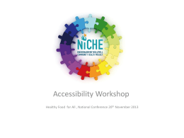 Accessibility Katherine Harford