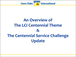 centennial-plan-2014 - Lions Clubs International