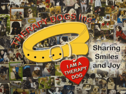 2015 Therapy Dogs Inc Presentation (PowerPoint Version)
