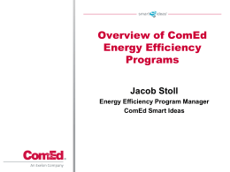 ComEd Energy Savings Program