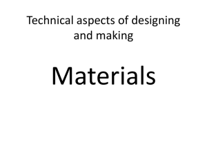theory. materials l1 - Olchfa Comprehensive School