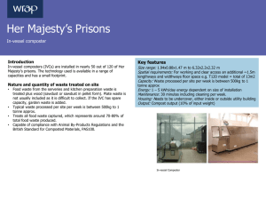 Her Majesty`s prisons case study