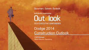 Dodge 2014 Construction Outlook