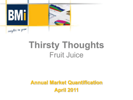 DOWNLOAD : Thirsty Thoughts - RTD Fruit Juice