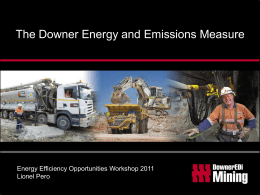 DEEM EEO 2011 - Energy Efficiency Opportunities