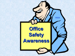 PowerPoint Presentation - Office Safety Awareness, v. 14