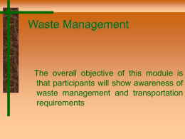 Waste Management - Brownfields Toolbox