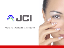 The world`s largest manufacturer of artificial nails