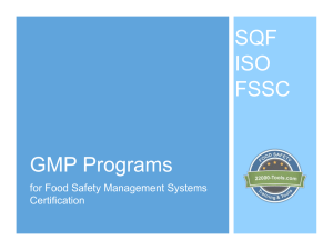 understanding the fssc 22000 food safety system