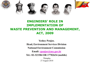waste management steps requiring engineering systems