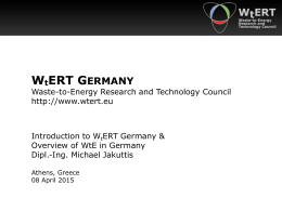 WtE in Germany