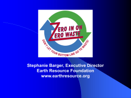 Zero Waste Business Examples