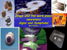 Drugs Awareness - The HR Exchange