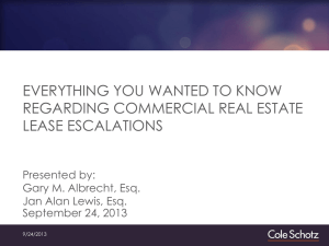Everything You Wanted to Know Regarding Commercial Real Estate