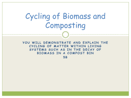 Biodrying cycling of biomass using a compost bin ccuart Gallery