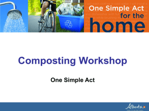 Composting PowerPoint Presentation