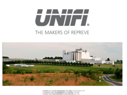Unifi Manufacturing, Inc