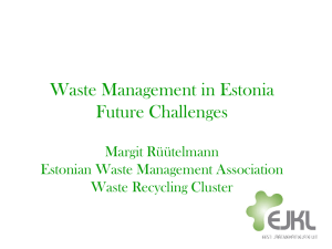 Waste Recycling Cluster