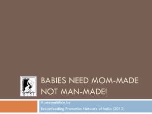 Babies Need Mom Mad Not Man Made