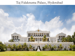 The Taj Hotels Resorts and Palaces