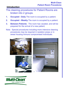 Patient Room Procedures - Multi