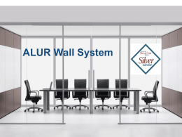 Alur Glass Walls PowerPoint Presentation