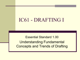 IC61 - DRAFTING I