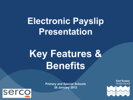 E-payslip briefing