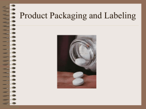 Product Packaging PPT