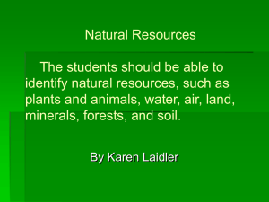 Natural Resources (2)