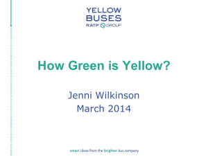 How Green is Yellow?