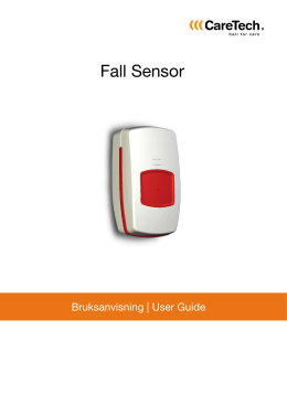 Fall Sensor - Tryggitel AS