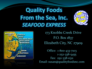 here - Quality Foods From the Sea Elizabeth City NC