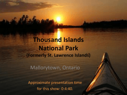 St Lawrence Islands National Park