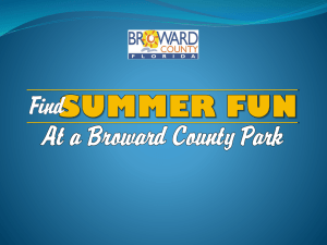 Best of Broward - Find Summer Fun at a Broward County Park