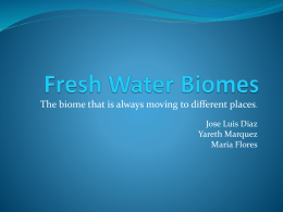 Fresh Water Biomes